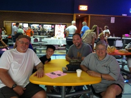 The Cassel International team at Pins for Pets fundraiser